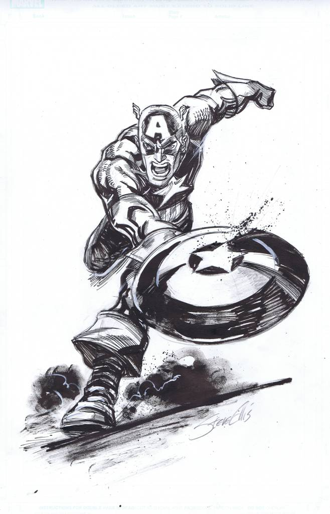 Steve Ellis - Captain America (Marvel)