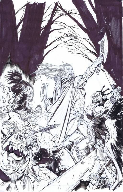 Tim Seeley - Dungeons & Dragons (IDW)