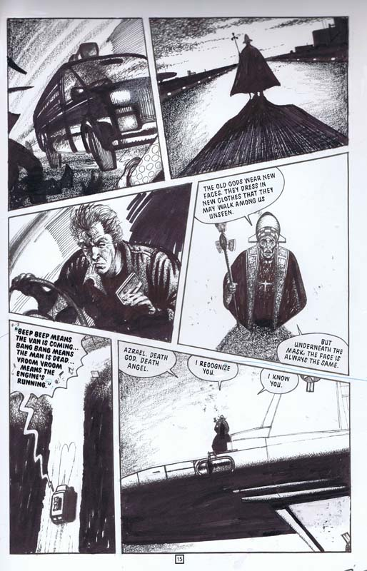 David Lloyd - Hellblazer (Vertigo)