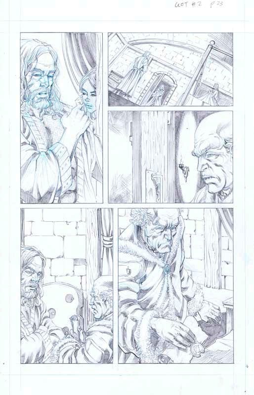 Tommy Patterson - Game of Thrones (Dynamite Entertainment)