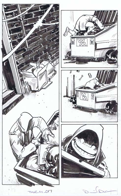 Dan Duncan - Teenage Mutant Ninja Turtles (IDW)