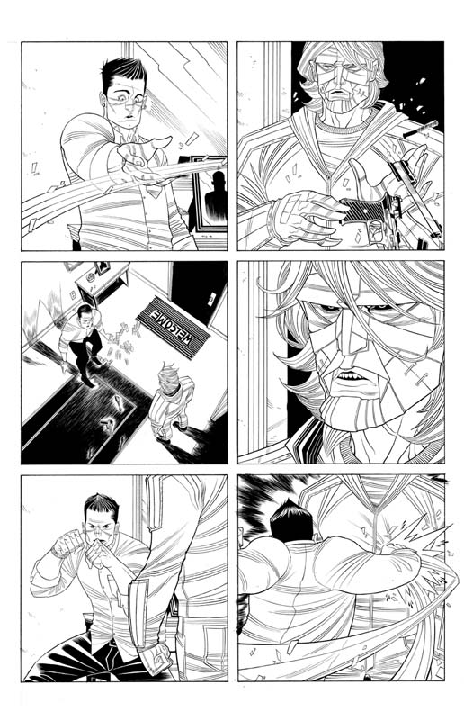 Tradd Moore - The Strange Talent of Luther Strode (Image)
