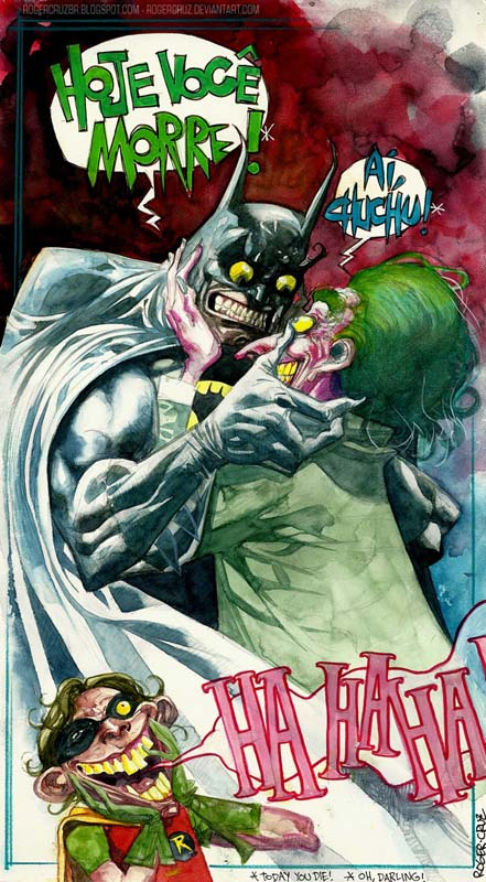 Roger Cruz - Batman vs. The Joker