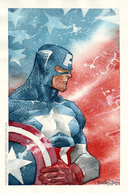 Roger Cruz - Captain America