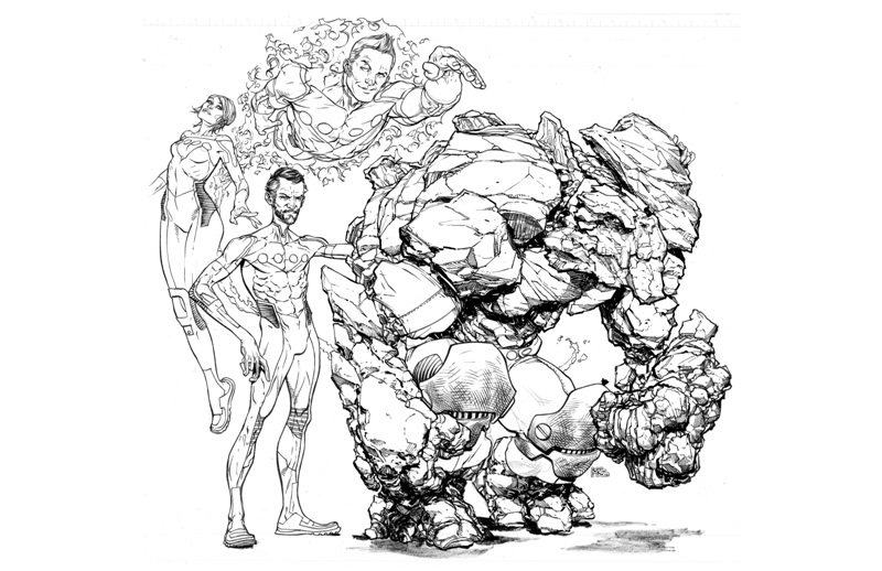 Ransom Getty - Fantastic Four (Marvel)
