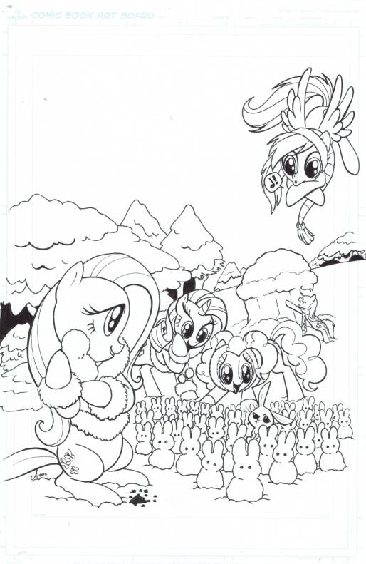 - My Little Pony: Friendship is Magic (IDW)