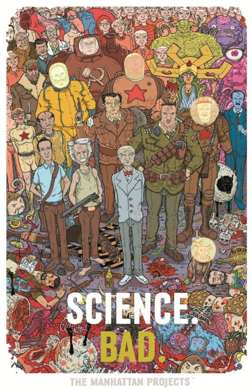 - The Manhattan Projects (Image) - Print