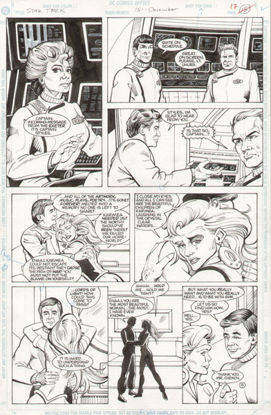 Gordon Purcell - Star Trek (DC Comics) Vol. 2