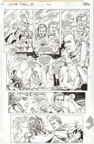 Gordon Purcell - Star Trek VI Movie Adaptation (DC Comics)