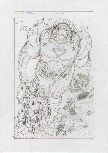 Rafa Sandoval - Marvel Adventures: Iron Man