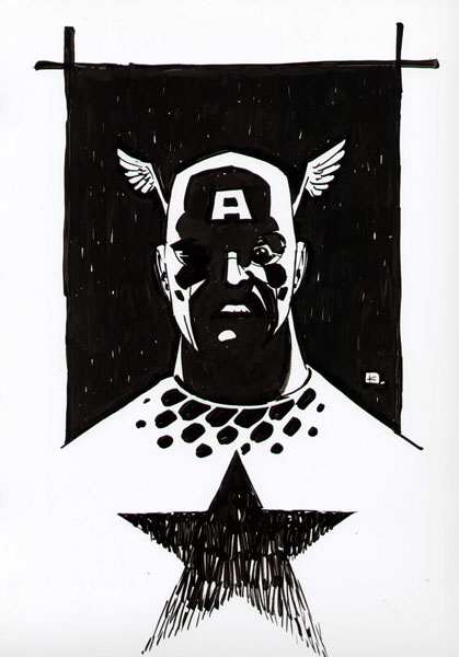 Andy Kuhn - Captain America